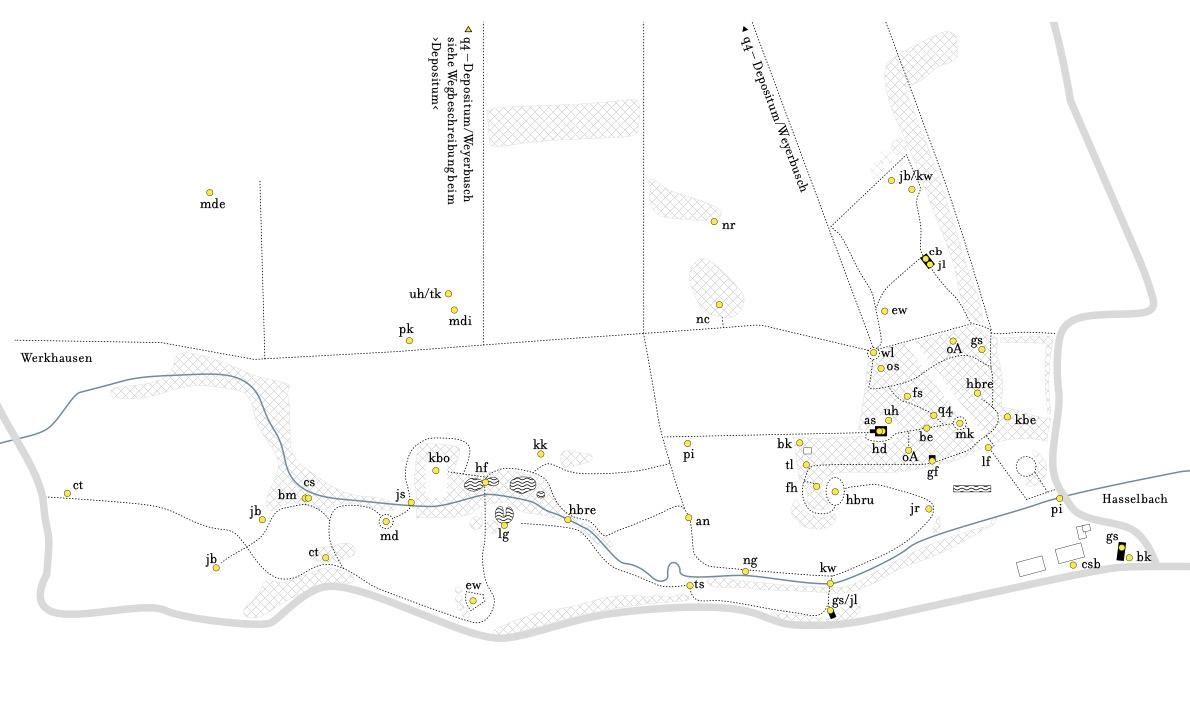 Karte des Tals